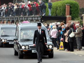 savile's funeral