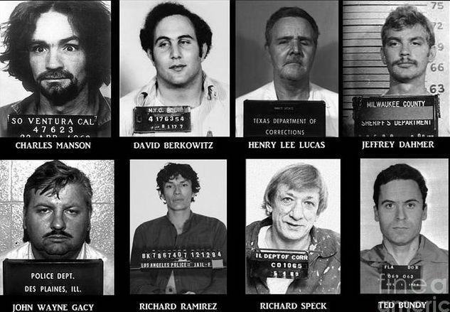 serial-killers Morte e fotografia